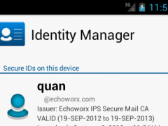 Identity Manager 1.0.3 Screenshot