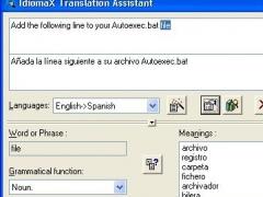 IdiomaX Translation Suite 6.00 Screenshot