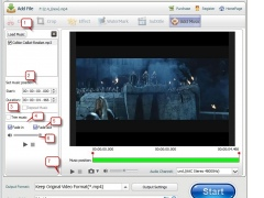 idoo add music to video 3.0 Screenshot