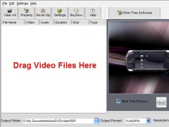 idoo Video to PSP Converter 2.9 Screenshot