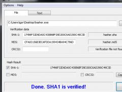 IgorWare Hasher (64bit) 1.7.0 Screenshot