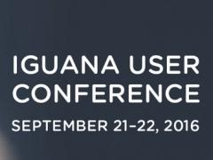 IGUANA User Conference 2016 1.1 Screenshot