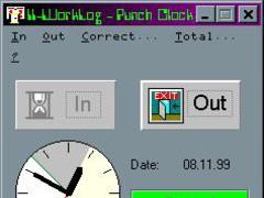 II_WorkLog 2.0 Screenshot