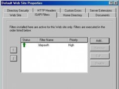 IIS LDAP Authentication ISAPI Module 2.0 Screenshot