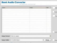 illumi Audio Converter 2.1.5 Screenshot