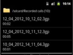 IM Calls Rec  Screenshot
