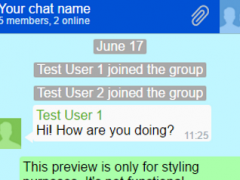 IM Flash Chat 0.1 Screenshot
