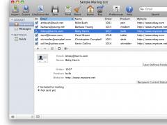 iMac Mailer 4.29 Screenshot