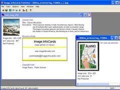 Image.InfoCards Publisher Personal Ed. 2.1 Screenshot