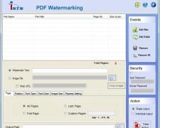 Image Watermarking PDF 2.8.0.4 Screenshot