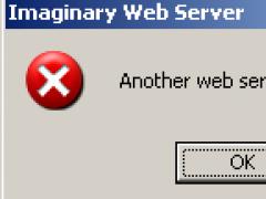 Imaginary Web Server 1.0 Screenshot
