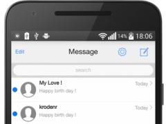 iMessenger - Messaging OS 10 5.0.20161205 Screenshot