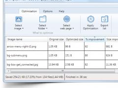 imgoptimize 1.1 Screenshot