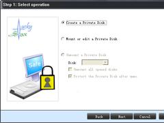 imlSoft Virtual Encrypted Disk Pro 3.0.2 Screenshot