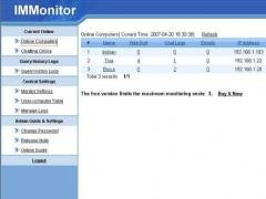 IMMonitor 2.3 Screenshot