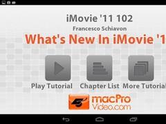 iMovie '11 102 - What's New 1.0 Screenshot
