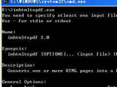 ImPDF HTML to PDF Converter Command Line 2.0 Screenshot