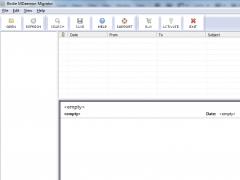 Import MDaemon MSG files to PDF 6.0.2 Screenshot