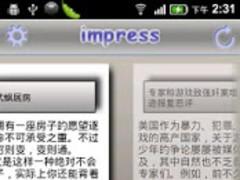 impress--Google Reader client 2.0 Screenshot