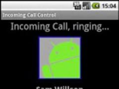 Incoming Call Control Free try 2.2 Screenshot