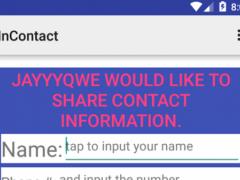 inContact - Add friends i  Screenshot