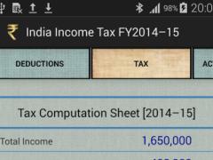India Income Tax Calculator 2.0 Screenshot