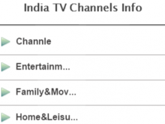 India TV Channels Info 1.1 Screenshot