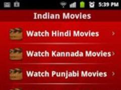 Indian Movies HD 1.7 Screenshot