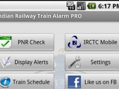 Indian Railway Train Alarm PRO 1.7 Screenshot