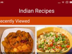Indian Recipe Guide Book 1.0 Screenshot