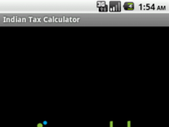 Indian Tax Calculator 2 Screenshot