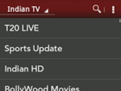 Indian TV- Live TV Movie Music 1.1 Screenshot
