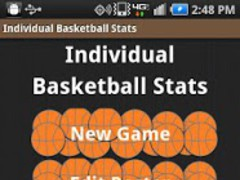 Individual Basketball Stats 1.06 Screenshot