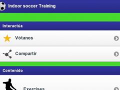 Indoor soccer Training 1.00 Screenshot