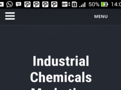 Industrial Chemicals Blog 0.1 Screenshot