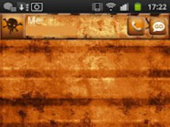 Industrial Grunge Go Sms 1.1 Screenshot