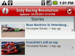 Indy Racing Revolution 2.8 Screenshot