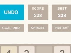 Infinity 2048 Plus UNDO 2.41 Screenshot