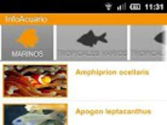 Info Aquarium 2.1 Screenshot