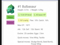 Info/Guide for pokemon go 1.0.8 Screenshot