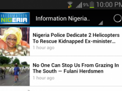 Information Nigeria App 1.0 Screenshot