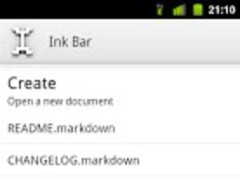Ink Bar (Text Editor) 0.6.3 Screenshot