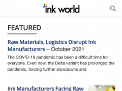 Ink World Magazine 34.0 Screenshot