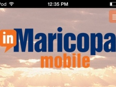 InMaricopa Mobile 1.0 Screenshot