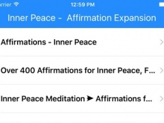 Inner Peace - Affirmation Expansion 1.0 Screenshot