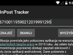 InPostTracker 2.0.1-8d Screenshot
