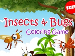 Insects & Bugs Coloring Book Painting Pages Games 1.0 Screenshot