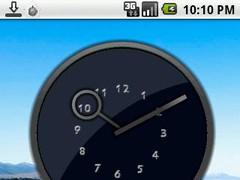 Inside Numbers Clock Widget 1.0 Screenshot