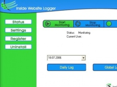 Inside Website Logger 2.4 Screenshot