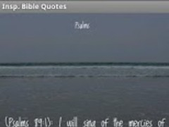Inspirational Bible Verses 1.0 Screenshot